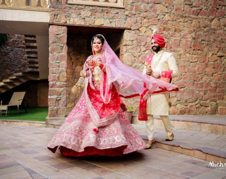 CEARA-RESORTS-PUNJABI-WEDDING-TWIRL-SHOT-BRIDE