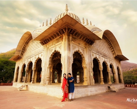 COUPLE-PREWEDDING-HISTORICAL-PLACE-ALWAR-RAJASTHAN